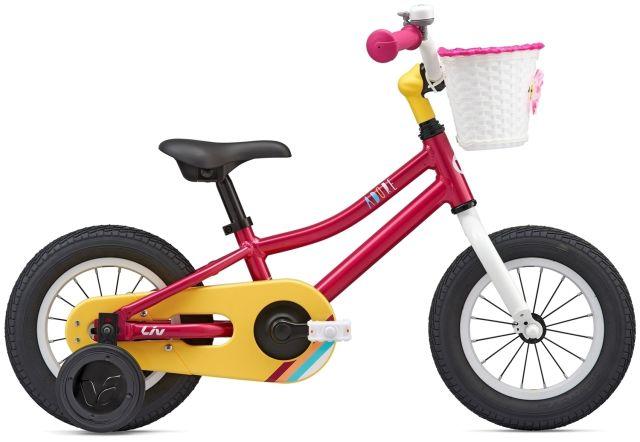 """12"""" Liv Adore Girls Bike - Magenta"""
