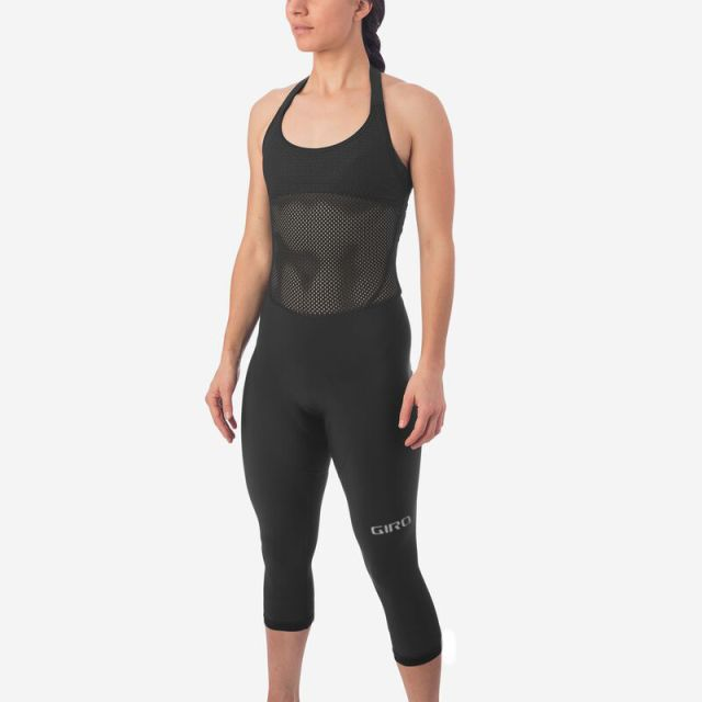 Giro Chrono Expert Thermal Halter 3/4 Womens Bib Knicker - Black