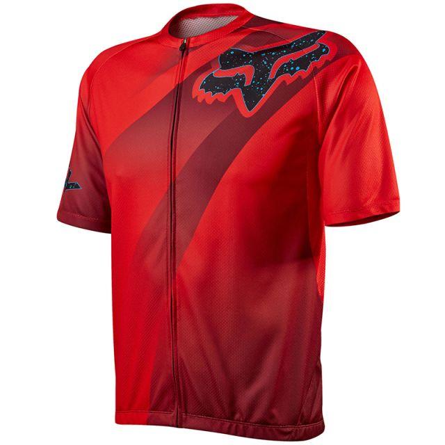 Fox Livewire Descent Jersey - Red