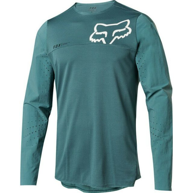Fox Attack Pro Long Sleeve Jersey - Pine Green