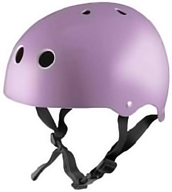 Kiddimoto Helmet -Metallic Purple  M 53-58cM