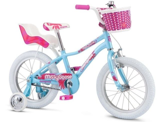 "16"" Mongoose Missygoose Girls - Blue"