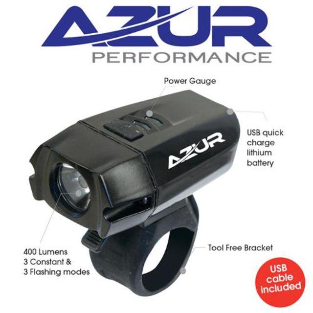 Azur 400 Lumen Front Light
