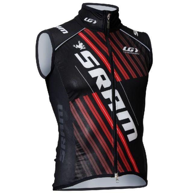 Louis Garneau Custom Elite Superlight Vest - Black/Red