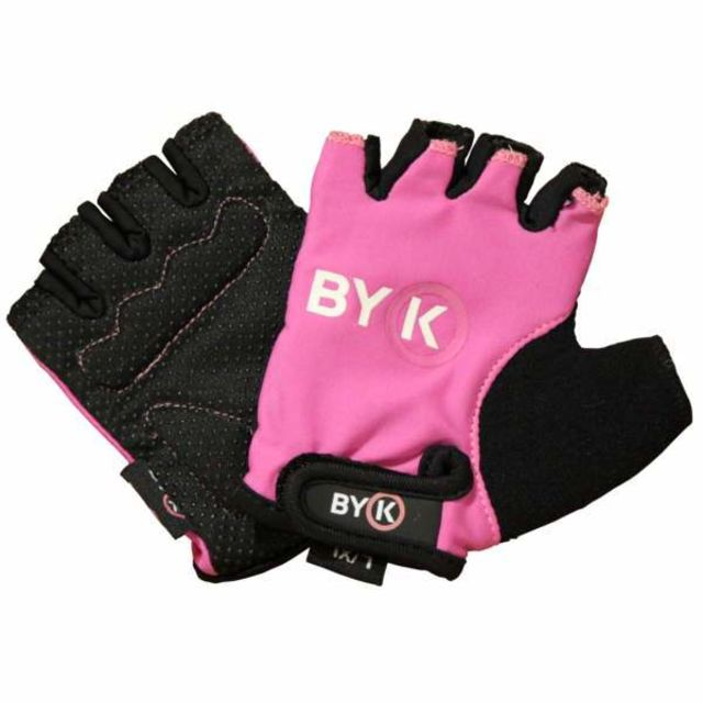 Girls Short Fingered Bike Gloves