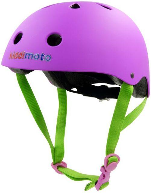 Kiddimoto Helmet -Purple  M 53-58cM