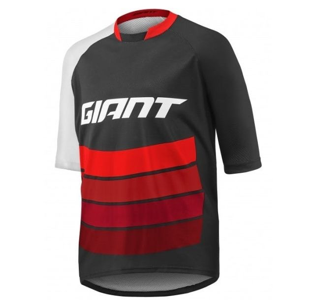 Giant Transfer Jersey - Black/Red
