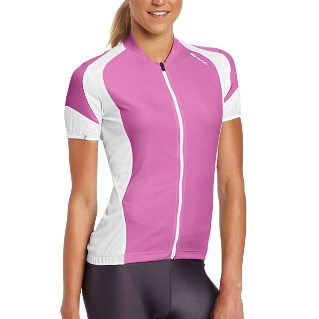 Sugoi RPM Womens Short Sleeve Jersey - Pink L
