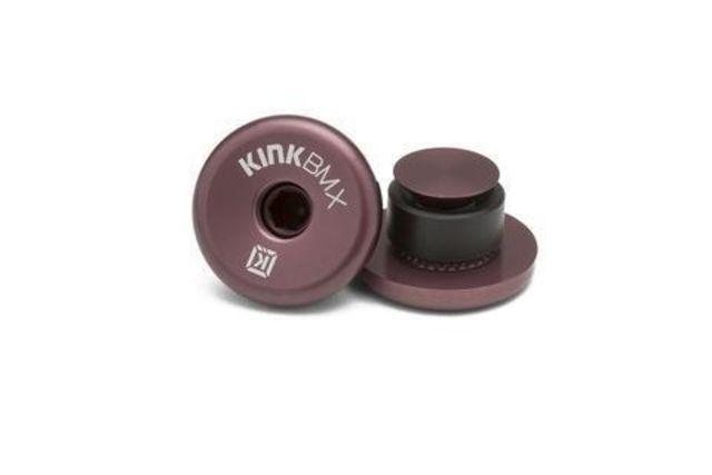 Kink Ideal 22.2mm Bar End Plugs -Bronze