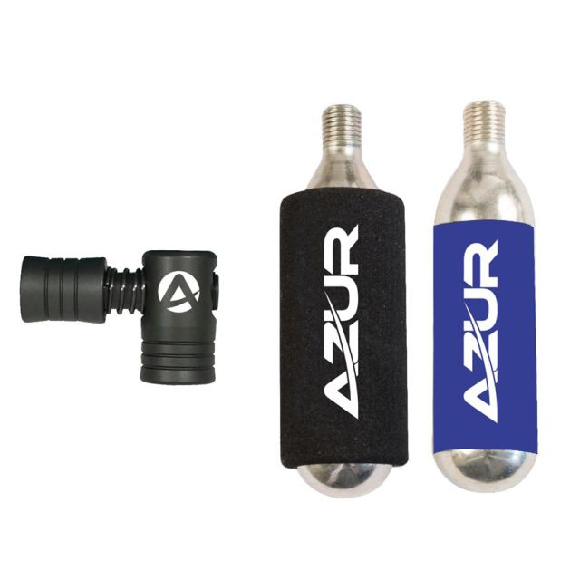 Azur Ezy Air 16g Co2 Inflator Pump Set