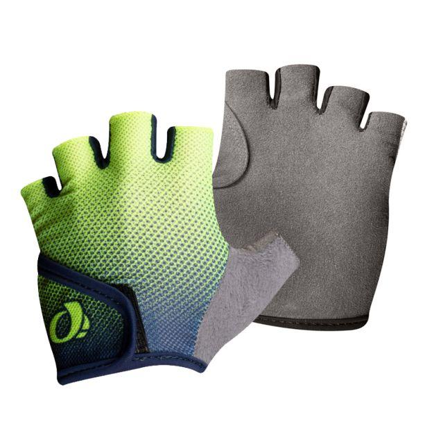 Pearl Izumi Select Kids Gloves - Navy Yellow Transform