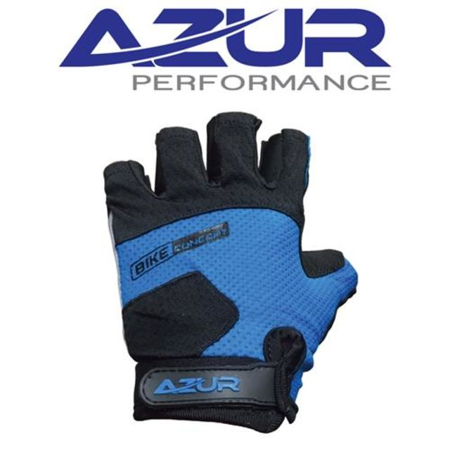 Kids Bike Glove Azur Blue