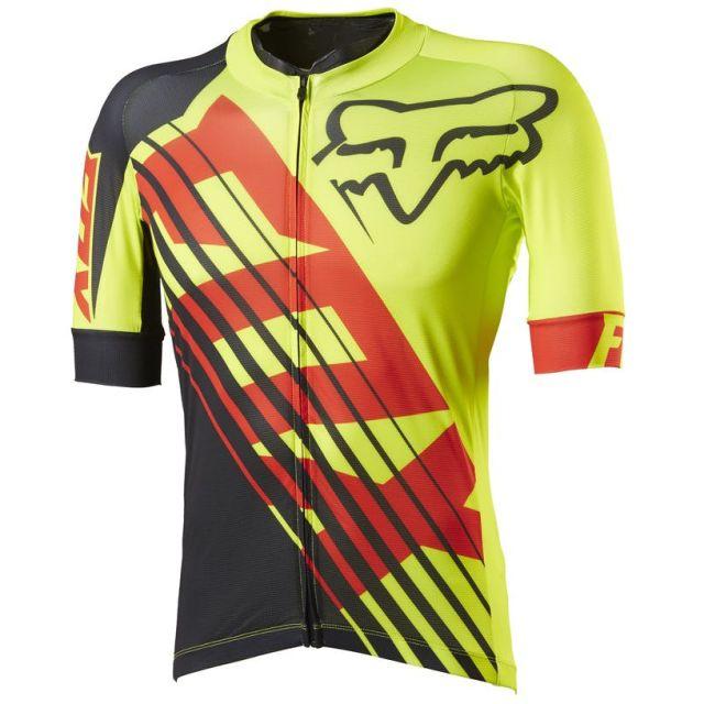 Fox Ascent LE Savant Jersey - Yellow