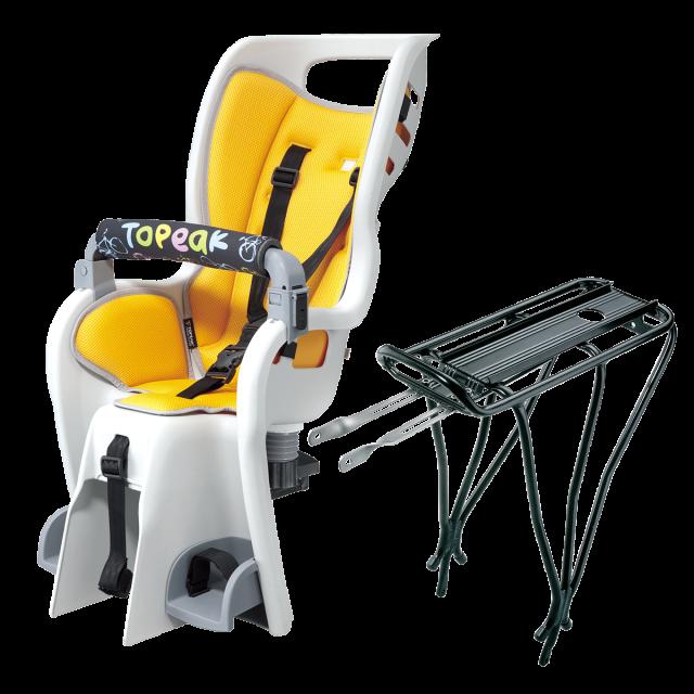 Topeak babyseat with rack