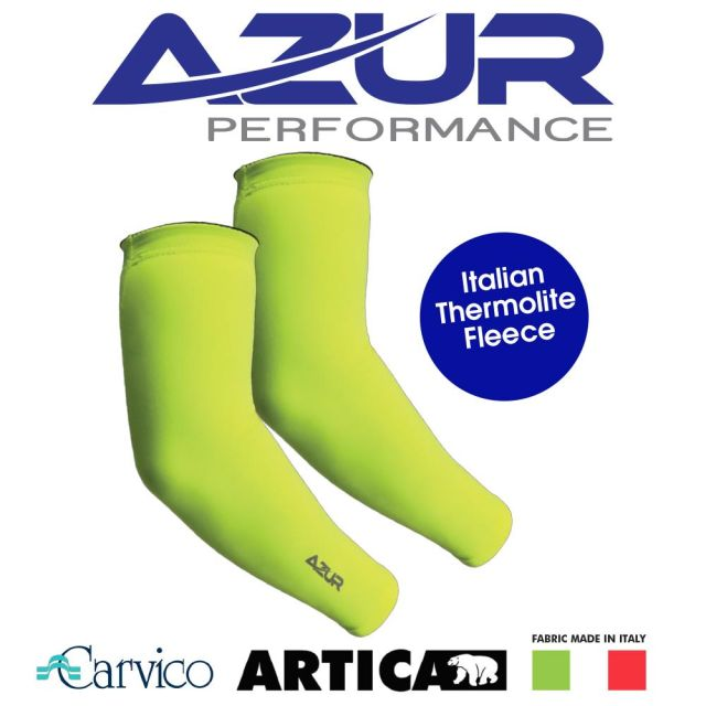 934198304104M-Azur Arm Warmers Yellow-01