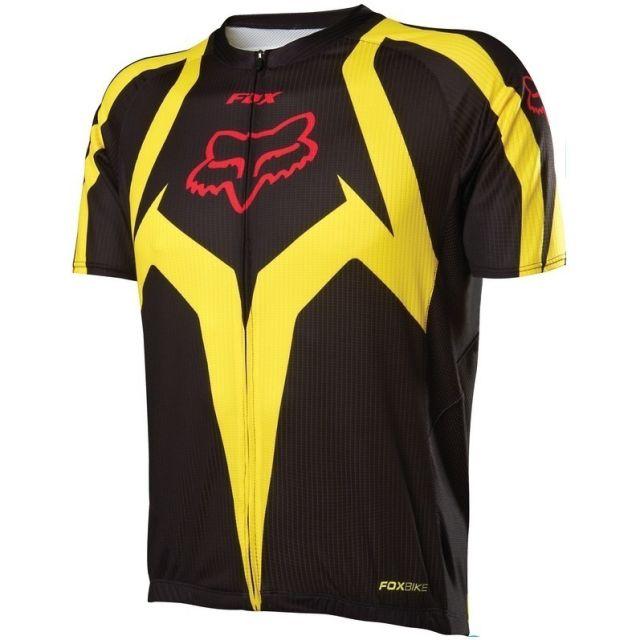 Fox Livewire Race Jersey - Black/Yellow