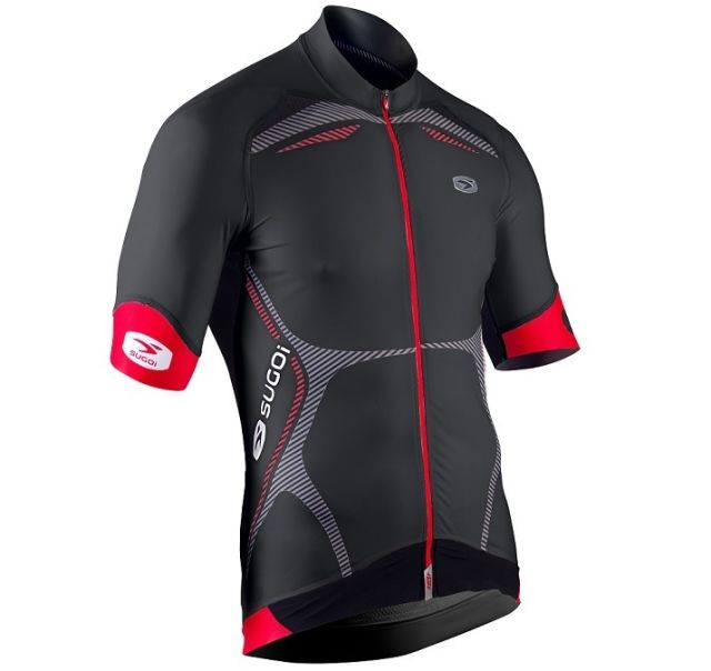 Sugoi RSE SS Jersey -Black/Red  2XL