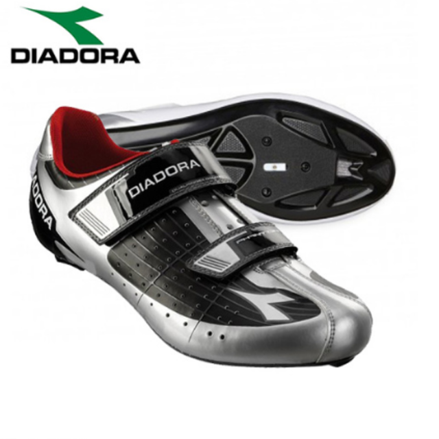 Diadora Phantom Road Shoes Silver/Black