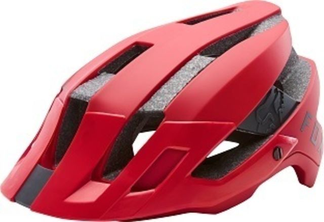Fox Flux 2.0 2018 Helmet -Bright Red  S/M
