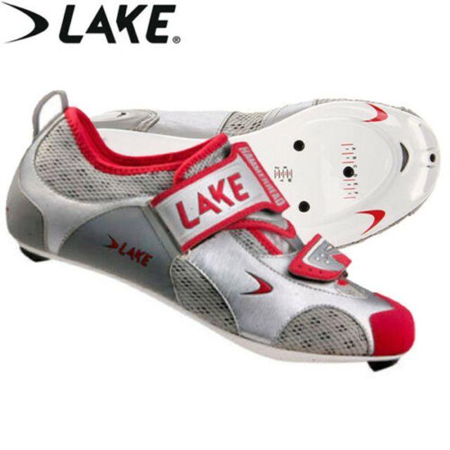 Lake CX311C Triathlon - Silver/Red