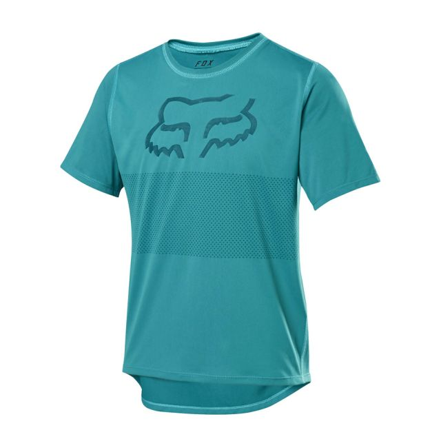 Fox Youth Ranger Short Sleeve Jersey - Aqua