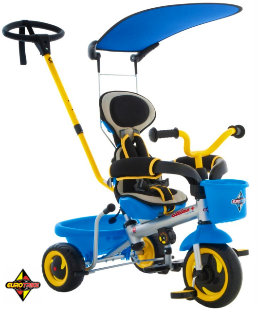 Eurotrike Ultima Canopy Boys Blue-10