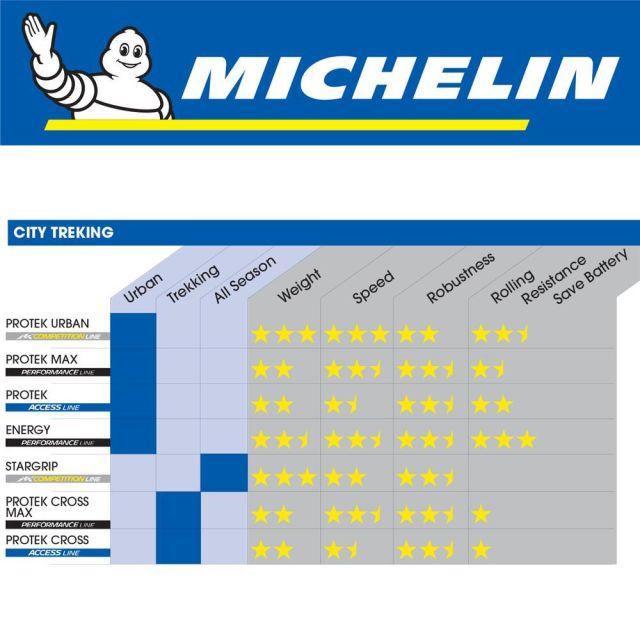 Tyre 700 x 35 Michelin Protek Max Wire