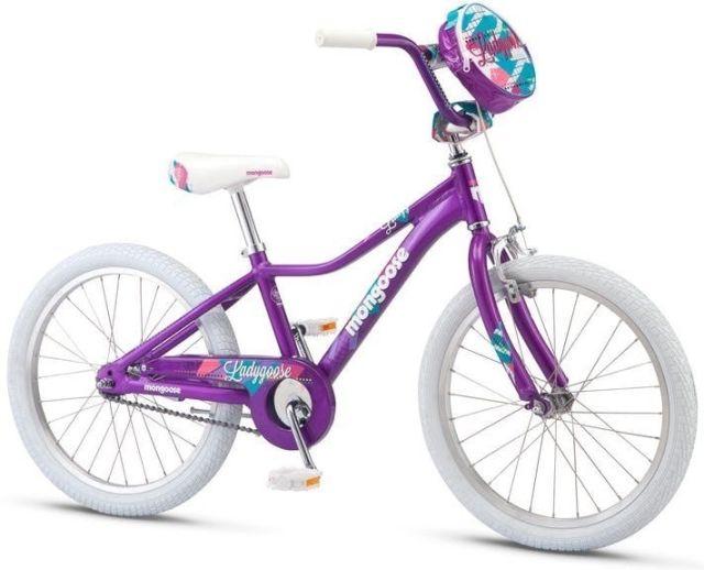 "20"" Mongoose Ladygoose Girls - Purple"