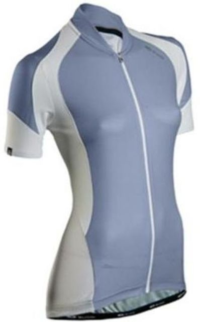 Sugoi RPM Womens Short Sleeve Jersey -Grey  L