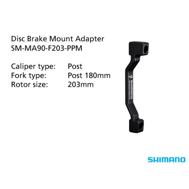 Shimano Disc Brake Adapter Front PM 203mm (ISMMA90F