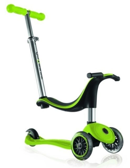 Globber Evo 4 In 1 Scooter Lime