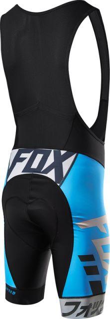 Fox Ascent Pro Bib Shorts [Colour: Blue] [Size: S]