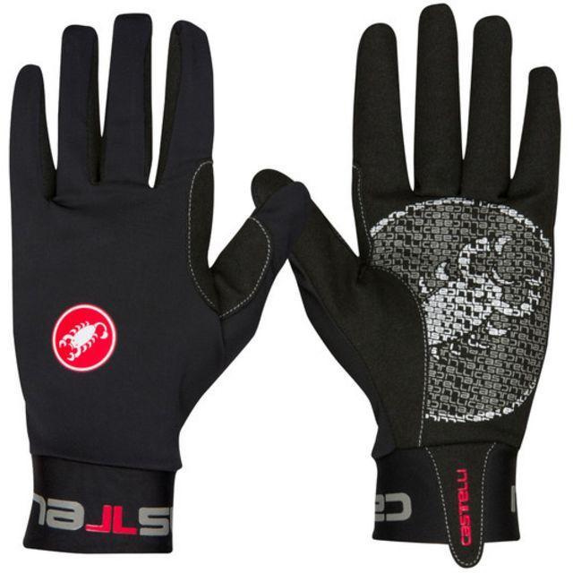 Castelli Lightness Full Finger Gloves -Black  2XL
