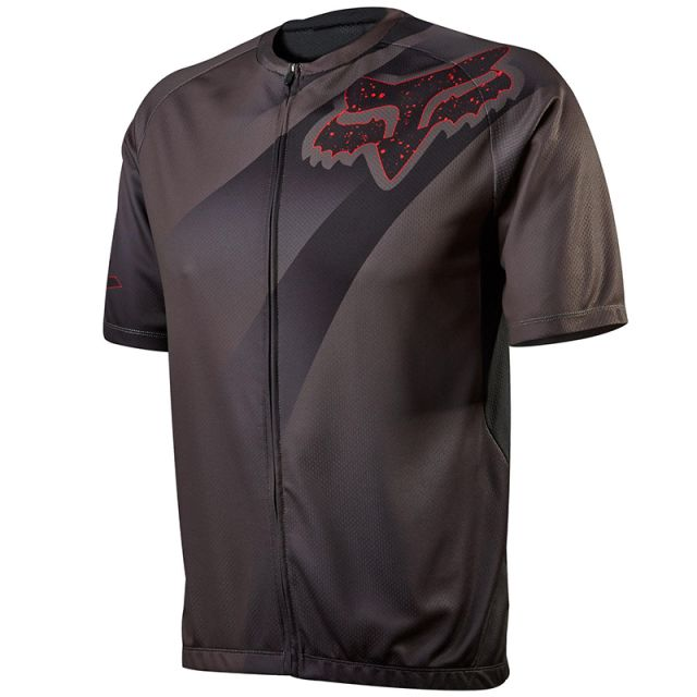 Fox Livewire Descent Jersey - Charcoal
