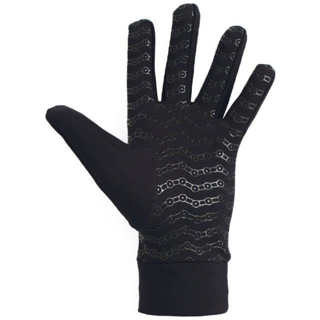Azur L10 Full Finger Gloves -Black  L