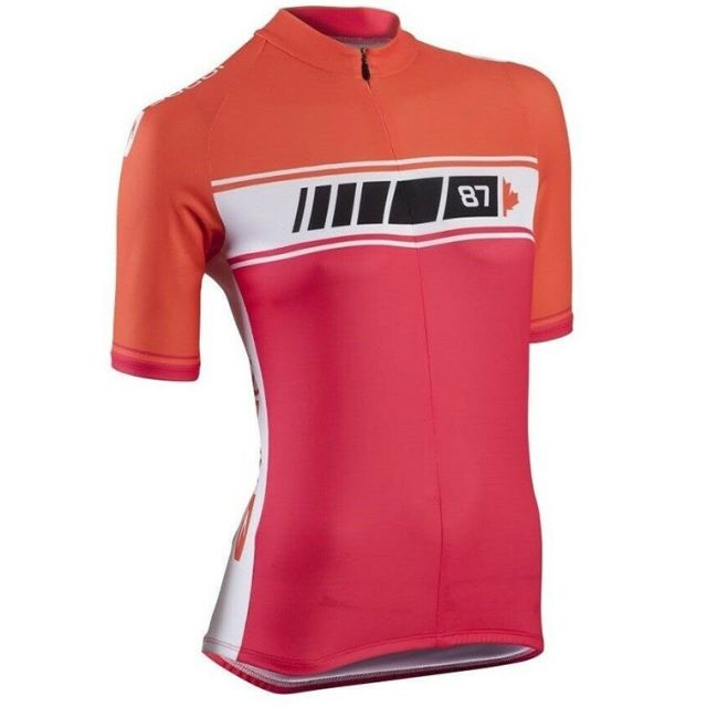 Sugoi Evolution Womens Jersey - Red/Orange