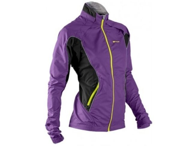 Sugoi Versa Convertible Womens Jacket -Grape  L