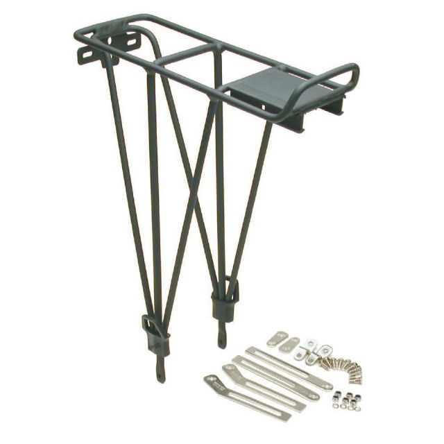 Rack Rear Alloy Carrier with Fittings