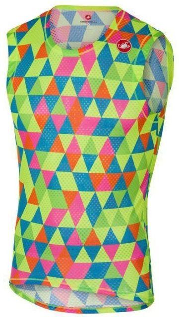 Castelli Multicolour Sleeveless Base Layer   XL