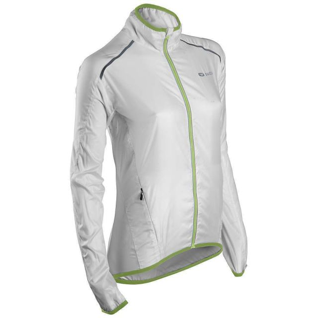 Sugoi Helium Womens Jacket [Colour: White/Green] [S