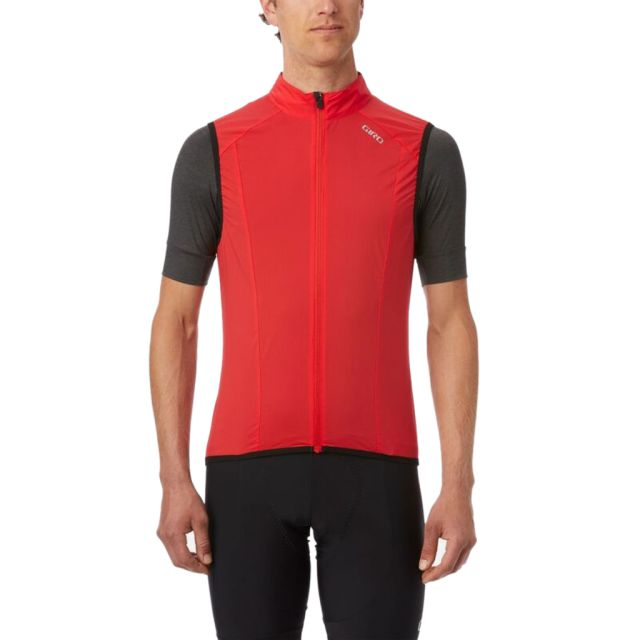 Giro Chrono Expert Wind Vest - Bright Red