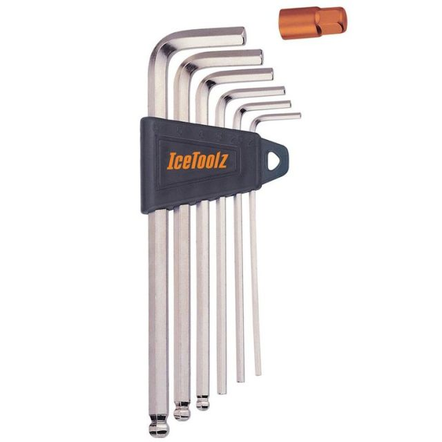 Icetoolz 6pc Allen Key Set with Ball-End 36Q1