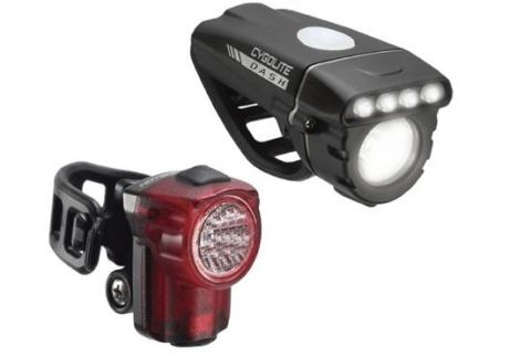 Cygolite Dash 460 and Hotshot Micro Light Set Combo