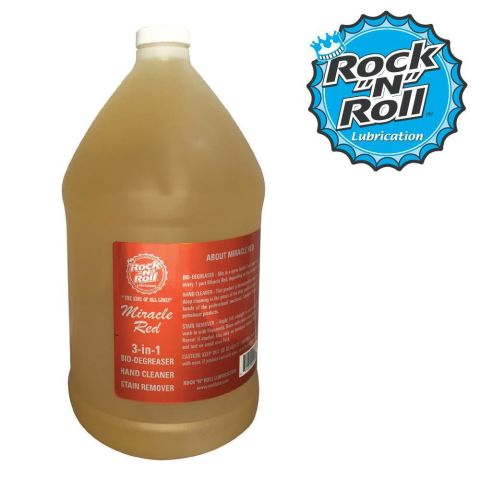 Degreaser Rock N Roll Miracle Red 4.5 Litres