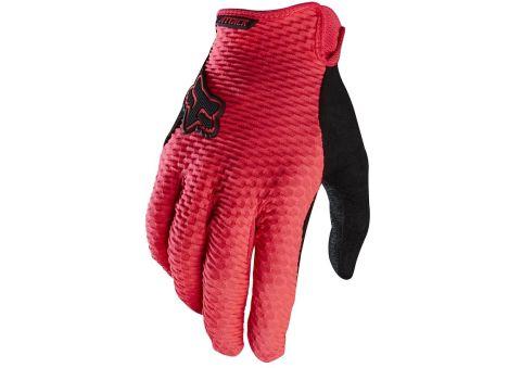 Fox Attack Full Finger Gloves 2016 [Colour: Neon Re
