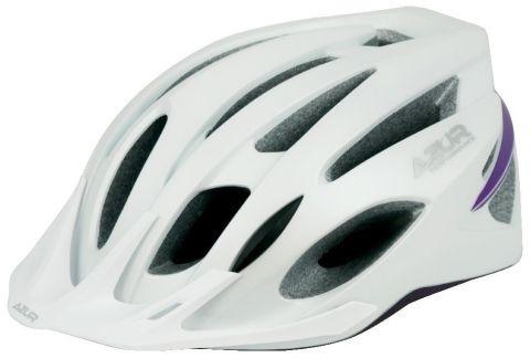 Azur L55 Helmet -White/Purple  M