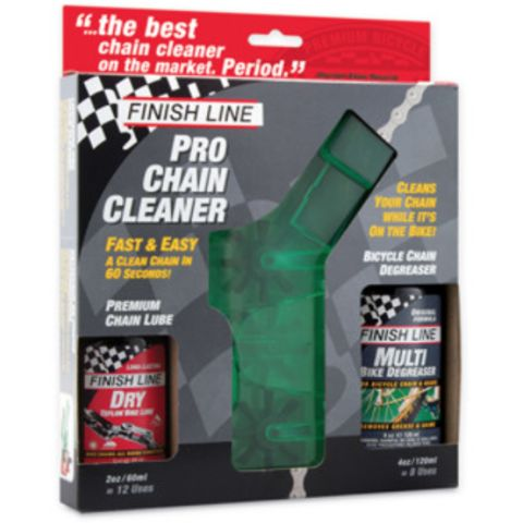 Cleaning Finish Line Kit Brush w/4oz Deg & Lube