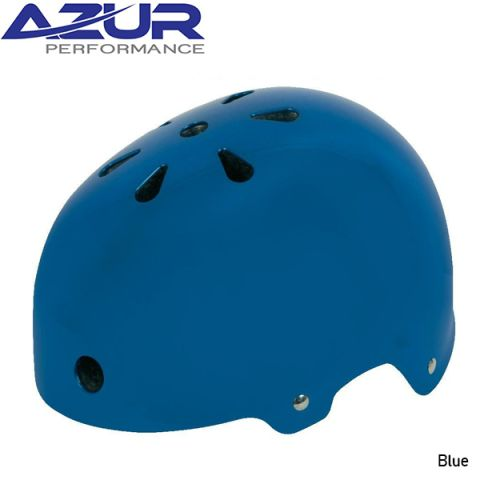 Azur U80 BMX Helmet - Blue - Small
