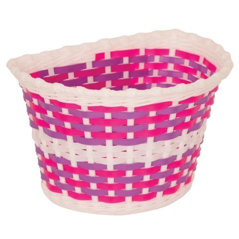Bikecorp Kids Plastic Weave Front Basket