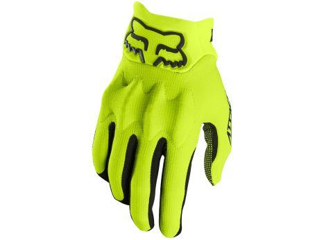 Fox Attack Full Finger Gloves 2017 [Colour: Fluro Y